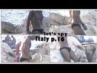 Italy 16/17 sexy black skimpy swimwear bikini speedo sunga Italian boy have fun with friends