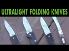 Ultralight Backpacking Folding Knives