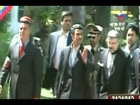 Iran's Mahmoud Ahmadinejad Arrives for Chavez State funeral