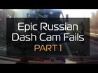 Epic Russian Dash Cam Fails (GTA)