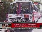 QRT: Babae, patay sa salpukan ng 2 bus sa Paco, Manila