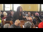 Stacy Davis Gates of Chicago Teachers Union speaks against school closings - April 20, 2013