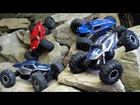RC ADVENTURES -  4 AXiAL XR10's ROCK CRAWLING AT THE iNFAMOUS
