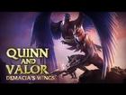 Champion Spotlight: Quinn and Valor, Demacia's Wings