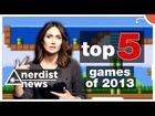 TOP 5 VIDEO GAMES of 2013 - Nerdist News SPECIAL w/ Jessica Chobot