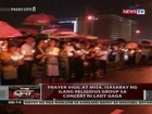 QRT: Prayer vigil at misa, isasabay ng ilang religious group sa concert ni Lady Gaga