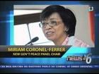 Prof. Miriam Coronel-Ferrer, bagong Chief negotiator para sa pakikipag-negosasyon sa MILF