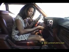 Hot Black Girl Pedal Pumping & Dance Revving