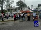 Conflicto en Macuspana, Tabasco entre conductores de combis y minibuses por invadir su ruta