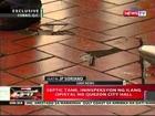 QRT: Septic tank, ininspeksyon ng ilang opisyal ng Quezon City Hall