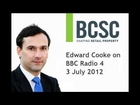 Distressed Retail Property Taskforce (DRPT) - Edward Cooke Interview, BBC Radio 4, 3 July 2012