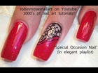 easy black and red nails for prom fancy diva swagg robin moses nail art tutorial 708