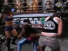 Naomi Night, Serena, and AJ Lee FCW Segment (AJ Lee Heel Turn)