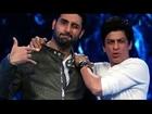 Abhishek Replaces Shahrukh As Host Of ZEE Cine Awards 2014 !