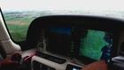 Le Plessis et Pontoise à bord d'un Cirrus SR20 G3 GTS