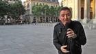 Festival Singe-Germain, Paris : Olivier Alleman présente l'étape cycliste.