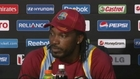Gayle delight at huge score