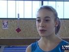 Maëlys Plessis, championne de Gymnastique (Le Mans)
