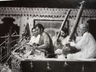 Pt. Brij Bhushan Kabra presenting an emotional rendering of Raga Jhinjhoti(Alap).